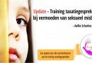 Update – Training taxatiegesprekken bij vermoeden van seksueel misbruik